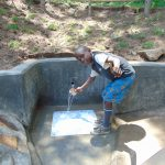 The Water Project: Emukangu Community, Okhaso Spring -  Thumbs Up