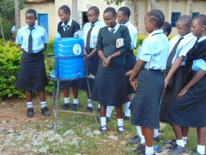 The Water Project:  Student Leads Handwashing Discussion