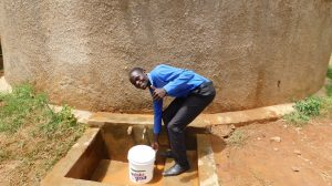 The Water Project:  Sanitation Teacher Alan Amuchisi
