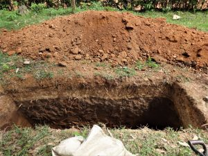 The Water Project:  Latrine Excavation