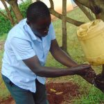 The Water Project: Hombala Secondary School -  Using A Tippy Tap