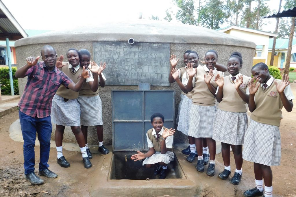 The Water Project : 21-kenya19045-completed-tank