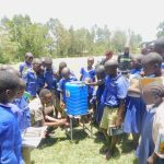 The Water Project: Eshiakhulo Primary School -  Handwashing Training