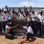 The Water Project: Imanga Secondary School -  Completed Boys Latrines
