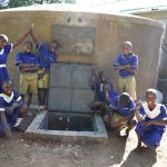 The Water Project: Eshiakhulo Primary School -  Completed Tank