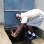 The Water Project: Kimangeti Girls' Secondary School -  Flowing Water