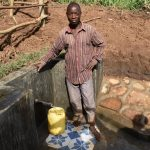 The Water Project: Ataku Community, Ngache Spring -  Pure Satisfaction