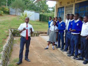 The Water Project:  Bynum Leads His Classmates