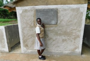 The Water Project:  Outside Latrines