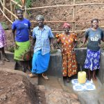 The Water Project: Ataku Community, Ngache Spring -  Cheers Of Joy
