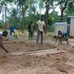 The Water Project: Bululwe Secondary School -  Latrine Foundation