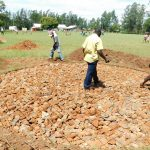 The Water Project: Mukhweya Primary School -  Rain Tank Foundation