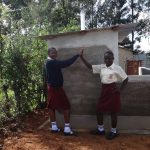 The Water Project: St. Theresa's Bumini High School -  Completed Girls Latrines