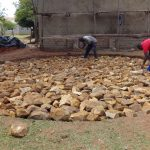 The Water Project: St. Theresa's Bumini High School -  Rain Tank Foundation