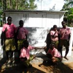 The Water Project: Mukhweya Primary School -  Completed Boys Latrines