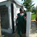 The Water Project: Mukhweya Primary School -  Girls Latrines