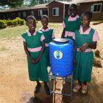 The Water Project: Mukhweya Primary School -  Handwashing Station