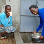 The Water Project: Dr. Gimose Secondary School -  Fetching Water