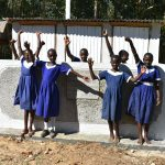 The Water Project: Eshiakhulo Primary School -  Completed Girls Latrines