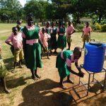 The Water Project: Mukhweya Primary School -  Handwashing