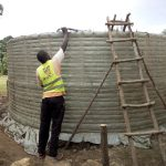 The Water Project: Eshiakhulo Primary School -  Curing Tank Walls
