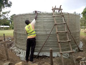 The Water Project:  Curing Tank Walls