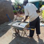 The Water Project: Hombala Secondary School -  Mixing Cement