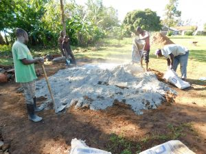 The Water Project:  Making Cement
