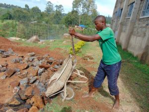 The Water Project:  Delivering Stones