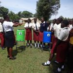 The Water Project: St. Theresa's Bumini High School -  Handwashing Demonstration