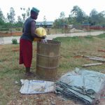The Water Project: Imanga Secondary School -  Bringing Water For Construction