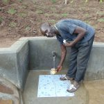 The Water Project: Emukangu Community, Okhaso Spring -  Treasurer Christopher Taifa