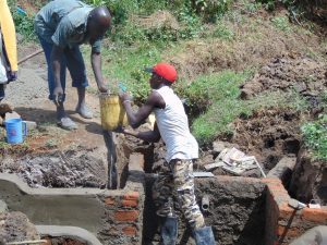 The Water Project:  Community Member Lends A Hand