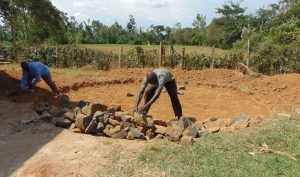 The Water Project:  Adding Rock Layer