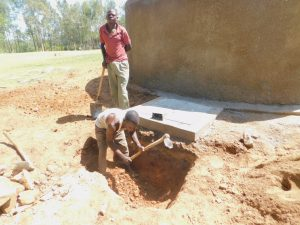The Water Project:  Drainage Pit Construction