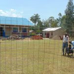The Water Project: Bululwe Secondary School -  Preparing Tank Wall