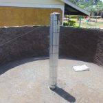 The Water Project: Kimangeti Girls' Secondary School -  Inside The Tank