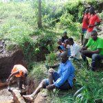 The Water Project: Emukangu Community, Okhaso Spring -  Community Support
