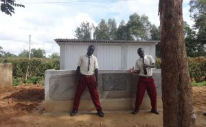 The Water Project:  Completed Boys Latrines