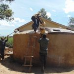 The Water Project: Kimangeti Girls' Secondary School -  Dome Construction