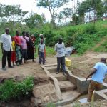 The Water Project: Mwichina Community, Shihunwa Spring -  Site Management Training