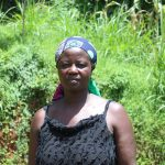 The Water Project: Malimali Community, Shamala Spring -  Nifreda Matende