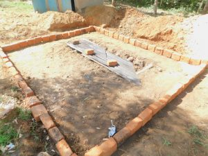 The Water Project:  Latrine Outline