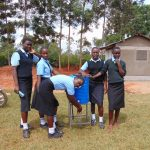 The Water Project: Hombala Secondary School -  Handwashing