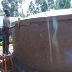 The Water Project: Hombala Secondary School -  Smoothing The Sides