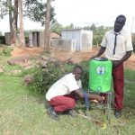 The Water Project: St. Theresa's Bumini High School -  Handwashing Station