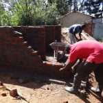 The Water Project: St. Theresa's Bumini High School -  Latrine Walls