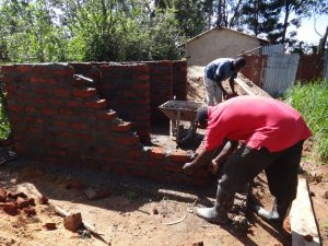 The Water Project:  Latrine Walls