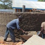 The Water Project: Imanga Secondary School -  Tank Walls