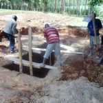 The Water Project: Kimangeti Girls' Secondary School -  Sinking Latrine Pits